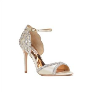 Badgley Mischka Roxy Ankle Strap Evening Shoe